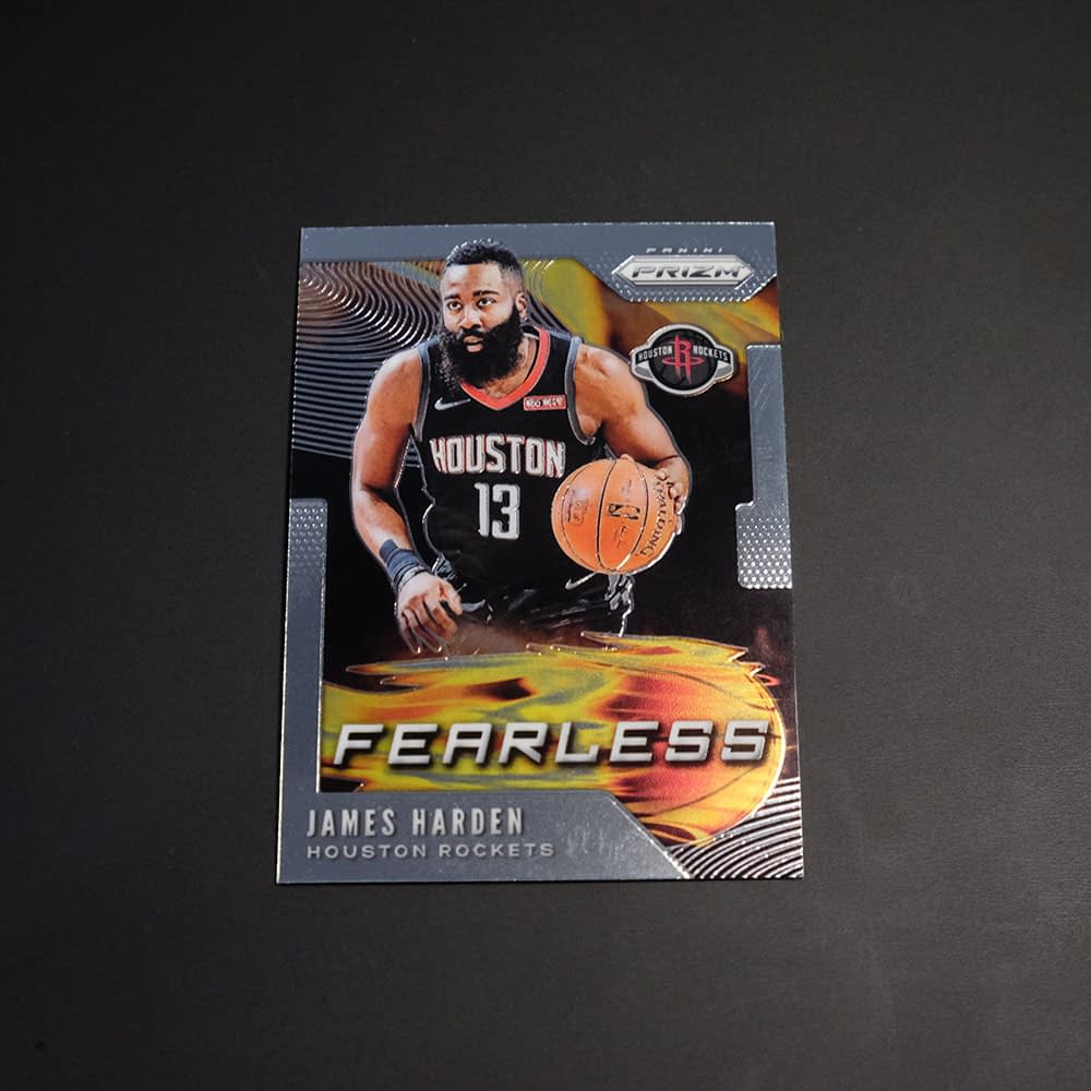 2019-20 James Harden Prizm NBA Fearless #5 - And 1 ...